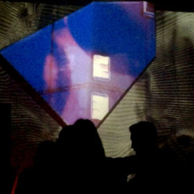 Eko House Wall Projection